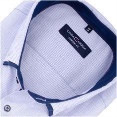 CASAMODA Cityhemd - EXTRA lang blau