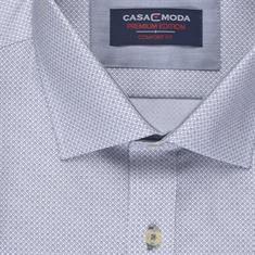 CASAMODA Cityhemd - EXTRA langer Arm blau