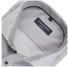 CASAMODA Cityhemd - EXTRA langer Arm grau