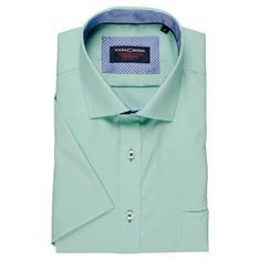 CASAMODA Cityhemd mit halbem Arm grün