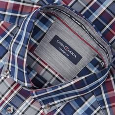 CASAMODA Freizeithemd - EXTRA langer Arm grau