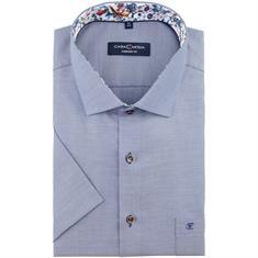 CASAMODA halbarm Cityhemd blau