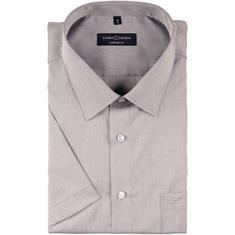 CASAMODA halbarm Cityhemd grau