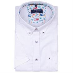 CASAMODA halbarm Freizeithemd weiß