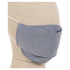 CASAMODA Mund-Nasen-Maske blau-meliert