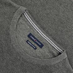 CASAMODA Pullover - EXTRA lang grau