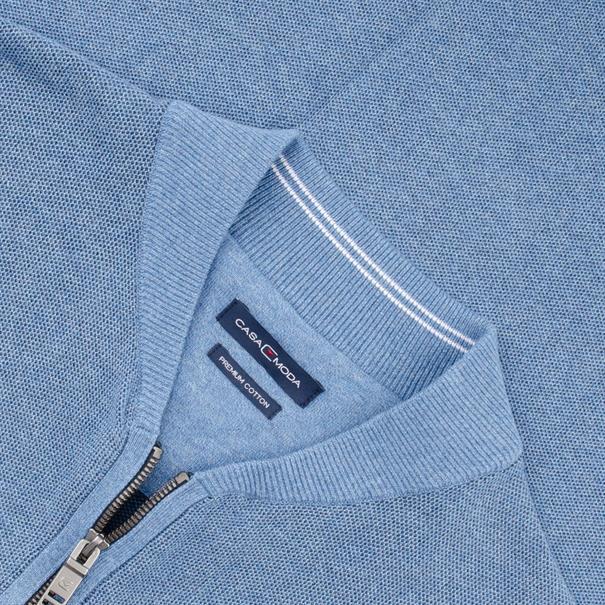CASAMODA Strickjacke EXTRA lang blau