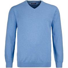 CASAMODA V-Pullover blau