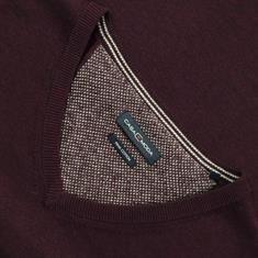 CASAMODA V-Pullover bordeaux