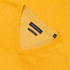 CASAMODA V-Pullover gelb