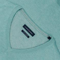 CASAMODA V-Pullover hellgrün