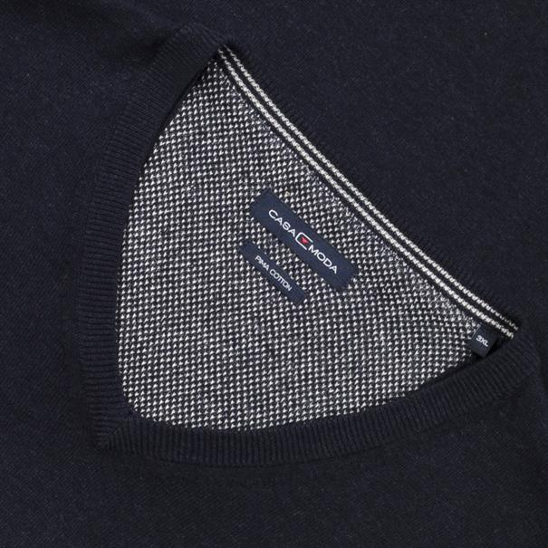 CASAMODA V-Pullover marine