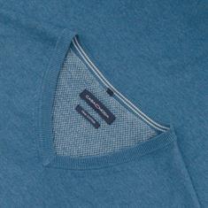 CASAMODA V-Pullover mittelblau