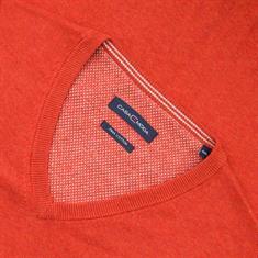 CASAMODA V-Pullover orange