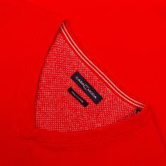 CASAMODA V-Pullover rot