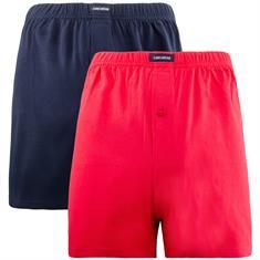 CECEBA Doppelpack-Shorts rot
