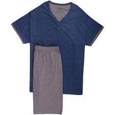 CECEBA halbarm Schlafanzug grau