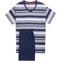 CECEBA halbarm Schlafanzug marine