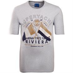 CLAUDIO CAMPIONE T-Shirt grau-meliert