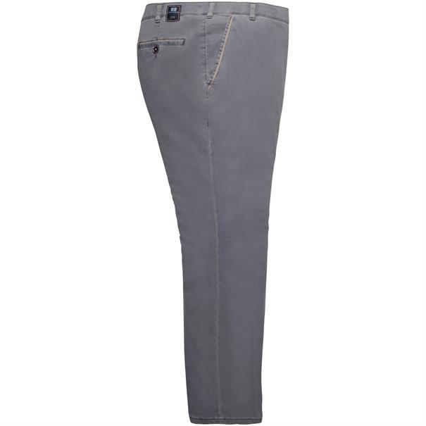 CLUB OF COMFORT Baumwollhose grau