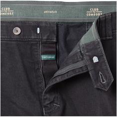 CLUB OF COMFORT Denim-Jeans schwarz