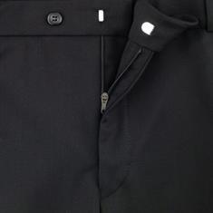 CLUB OF COMFORT Wollhose in Kurzleibgrößen schwarz