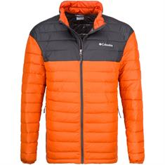 COLUMBIA Steppjacke orange