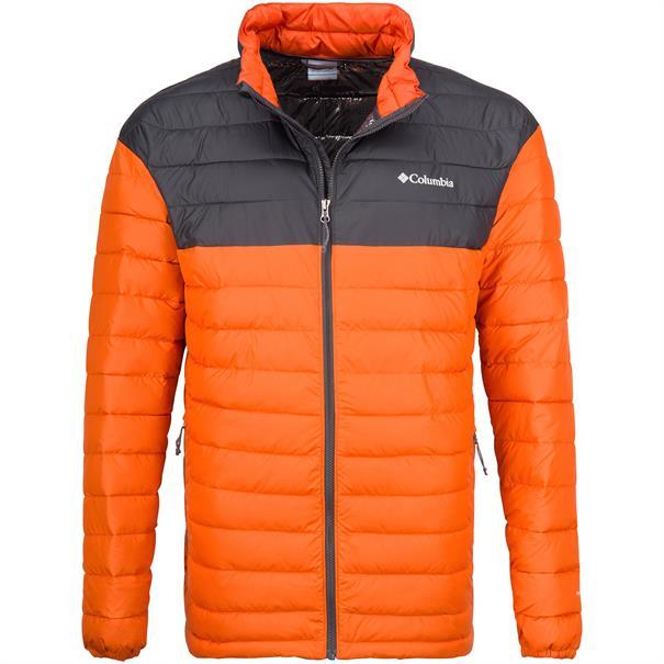 COLUMBIA Steppjacke orange