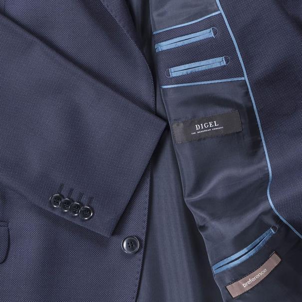 DIGEL Baukasten-Sakko blau