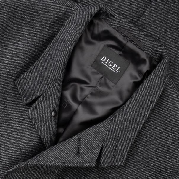 DIGEL Woll-Mix Mantel anthrazit