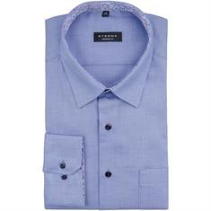 ETERNA Cityhemd - EXTRA lang blau