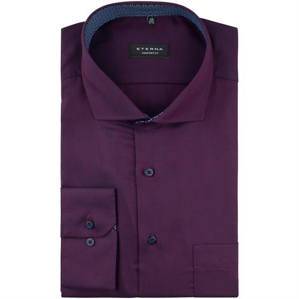 ETERNA Cityhemd - EXTRA lang violett