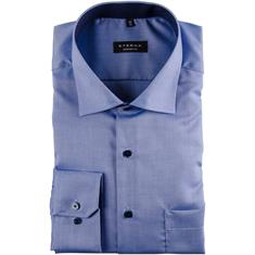 ETERNA Cityhemd - EXTRA langer Arm blau