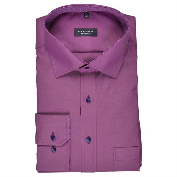 ETERNA Cityhemd violett