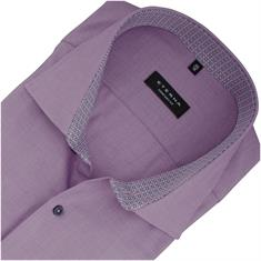 ETERNA halbarm Cityhemd violett