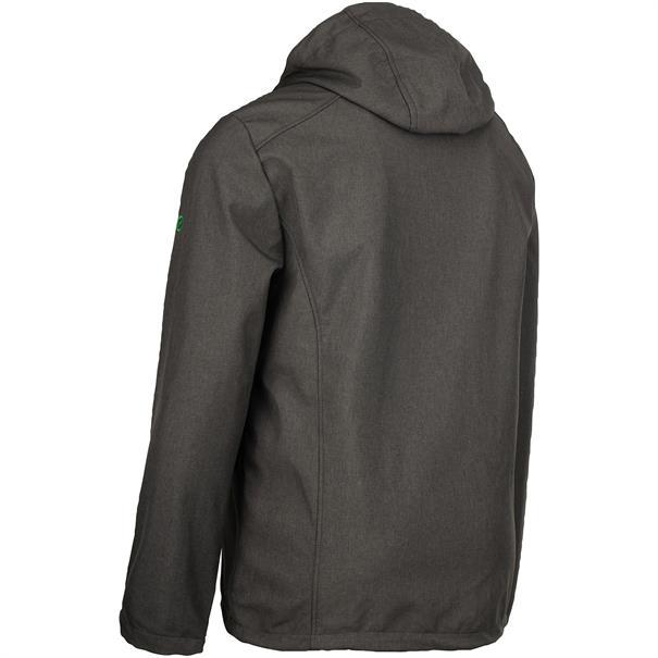 FIRST B Softshell-Jacke grau