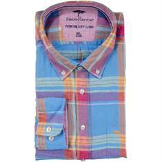 FYNCH-HATTON Freizeithemd 4XL - 6XL blau
