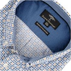 FYNCH HATTON Freizeithemd blau