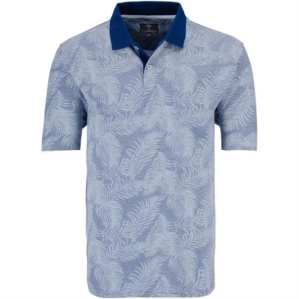 FYNCH HATTON Poloshirt 4XL - 6XL blau