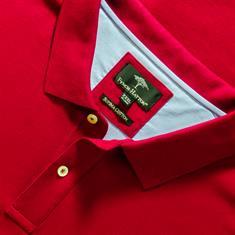 FYNCH-HATTON Poloshirt 4XL - 6XL dunkelrot