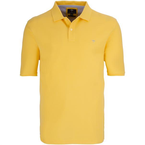 FYNCH-HATTON Poloshirt 4XL - 6XL gelb