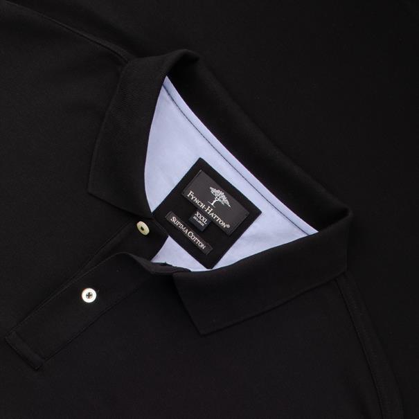 FYNCH-HATTON Poloshirt 4XL - 6XL schwarz