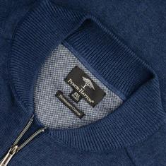 FYNCH HATTON Strickjacke blau