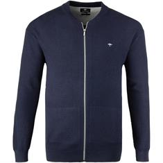FYNCH-HATTON-Strickjacke blau