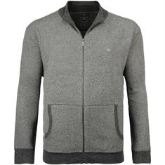 FYNCH HATTON Strickjacke grau-meliert