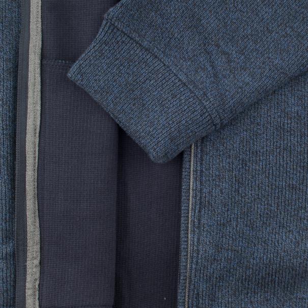 FYNCH-HATTON Sweatjacke blau-meliert