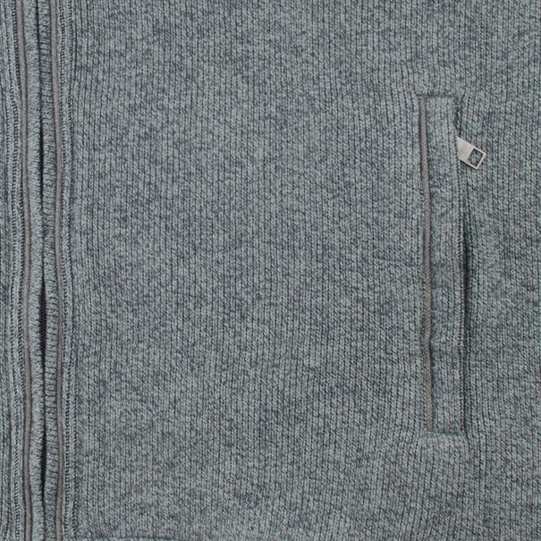 FYNCH-HATTON Sweatjacke grau-meliert