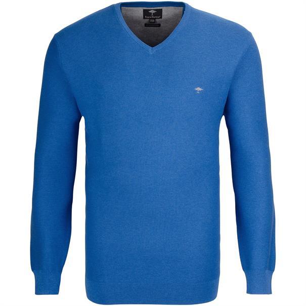 FYNCH-HATTON V-Pullover 3XL blau