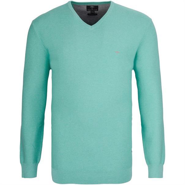 FYNCH-HATTON V-Pullover 3XL grün
