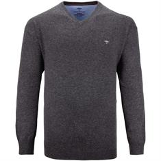 FYNCH-HATTON V-Pullover anthrazit